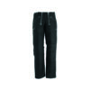 Black english leather guild trousers