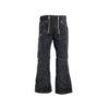 Black genoa corduroy guild trousers