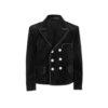 Black corduroy guild jacket