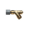 Propane hose failure safety device