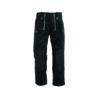 Black trenker corduroy trousers