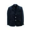 Black trenker corduroy guild jacket