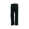 Black trenker corduroy guild trousers
