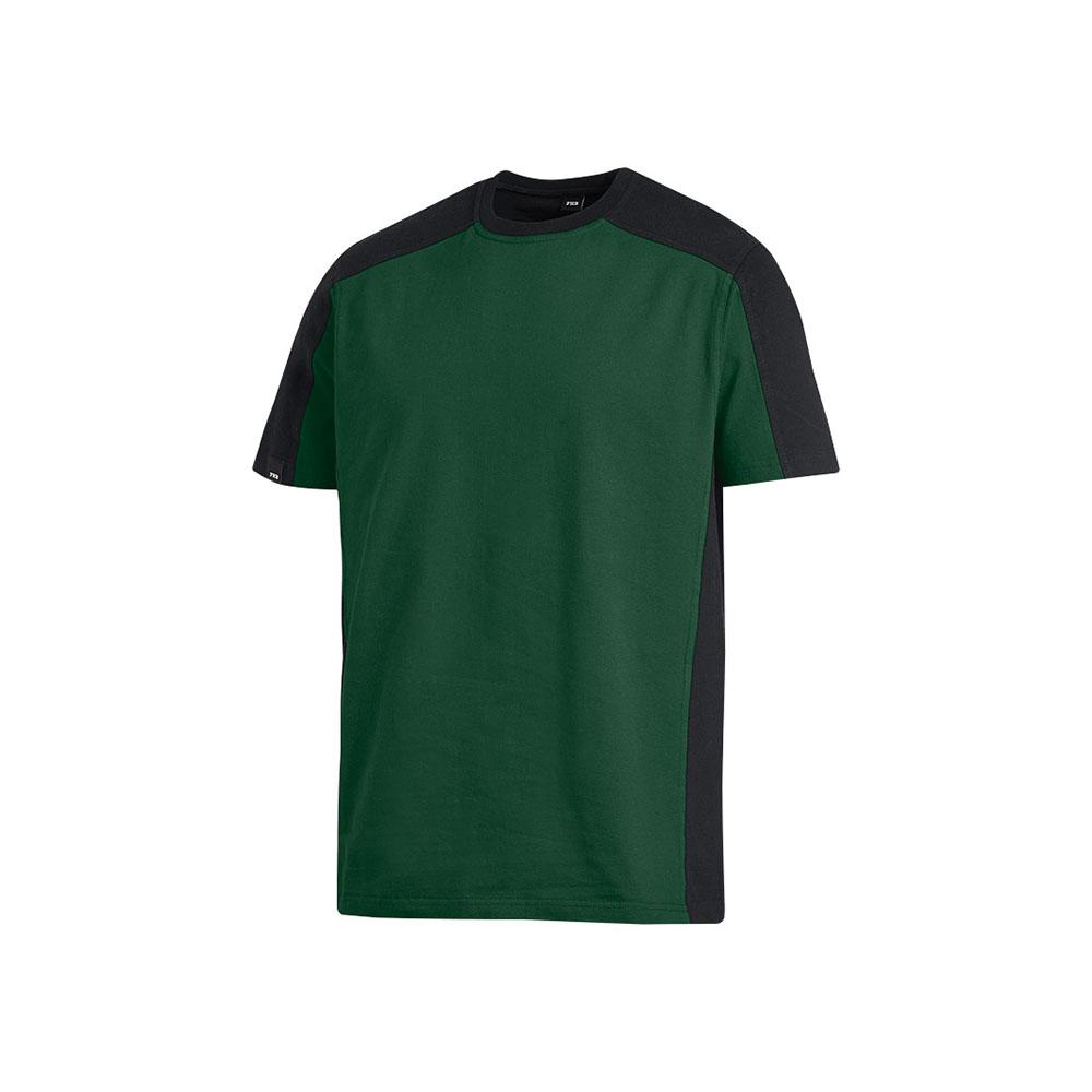 Green and black t-shirt