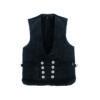 Black warm vest