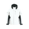 White and anthracite winter jacket