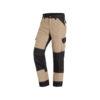 Beige canvas work trousers