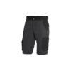 Anthracite black bermuda shorts